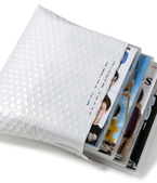 Armour White End Open 1 LAYER Sancell Enviro Protecta Bag 151mm x 220mm + 50mm Flap with Tape (350)