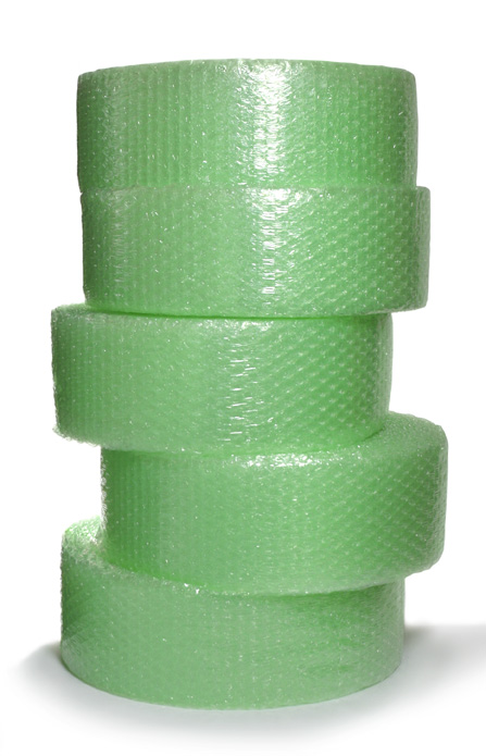 VOID ENVIRO Bubble Wrap 30mm Bubble 1500mm (wide) x 75m Roll Slit 5 x 300mm Perforated every 300mm