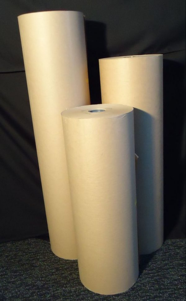 Paper Suppliers Melbourne - 750mm x 80gsm Brown Kraft Wrapping Paper 235m