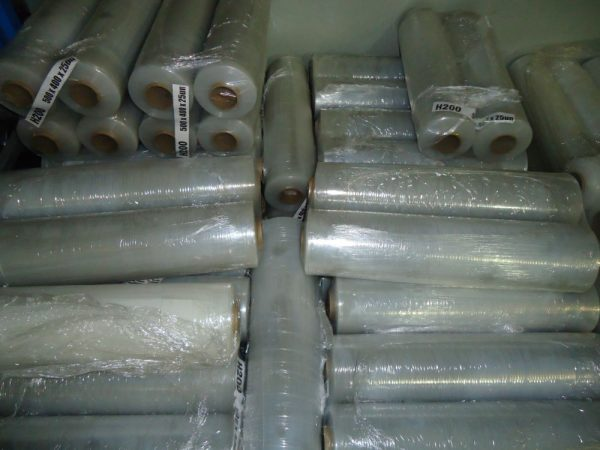Natural Blown Stretch Wrap 500mm x 400m x 25um