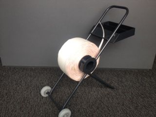 Mobile Strap Dispenser to Suit Woven and Composite Strap