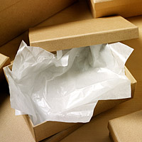 Acid Free Tissue 400mm x 660mm White  (480 sheets per pack)