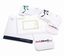 Armour White End Open 5 LAYER Sancell Enviro Protecta Bag 241mm x 345mm + 50mm Flap with Tape (150)
