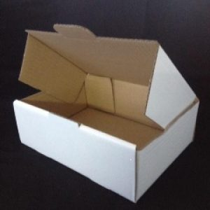 Postage Boxes A5 220mm x 160mm x 77mm  White