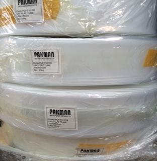 Plastic Lay Flat Tube 100mm x 150um Natural (15kg