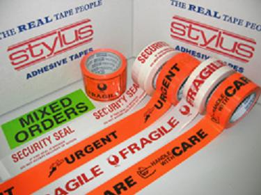 Custom Printed  Acrylic Packaging Tape Printed 1 Colour