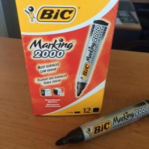 BIC 2000 Black Bullet Point Markers
