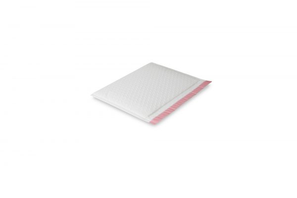 Armour White Side B0 FLAT Protecta Book Bag (Long Edge Opening)  250mm x 185mm + 50mm Flap with Tape (250)