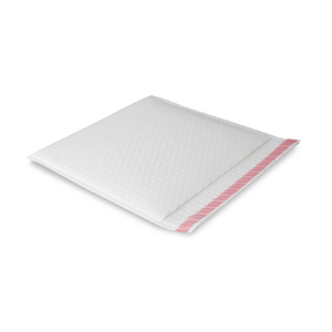 Armour White Side B2 FLAT Protecta Book Bag (Long Edge Opening)  300mm x 280mm + 50mm Flap with Tape (125)