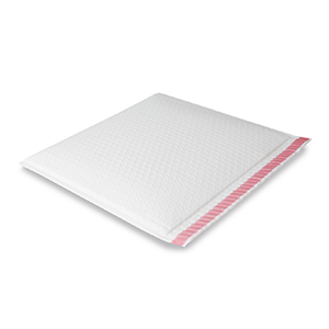 Armour White Side B3 FLAT Protecta Book Bag (Long Edge Opening)  345mm x 300mm + 50mm Flap with Tape (100)